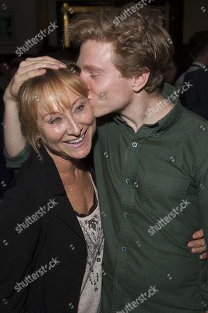 Karen Lewis and Will Attenborough (James Watson)