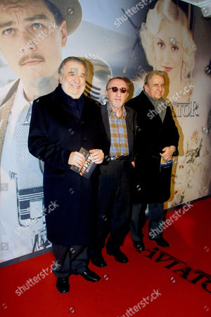 Pupi Avati and brother Antonio Avati with Carlo Delle Piane