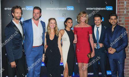 Stock Image of Steven McCarthy, Benjamin Arthur, Kate Corbett, Emmanuelle Chriq and Guests