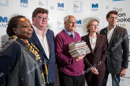 Michael Wood, Ellah Wakatama Allfrey, John Burnside, Sam Leith and Frances Osborne
