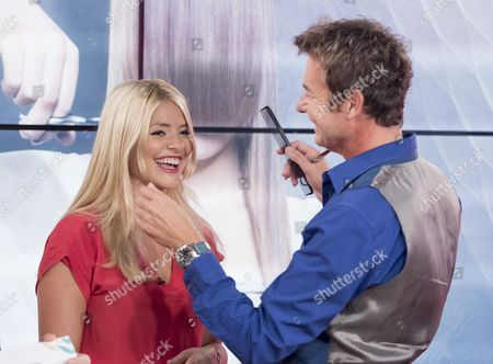 Richard Ward and Holly Willoughby