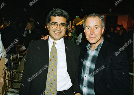 Stock Picture of Terry Semel and David Geffen