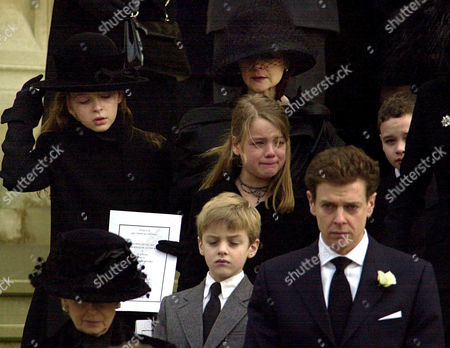 Editorial photo of ANGUS OGILVY FUNERAL, ST GEORGE'S CHAPEL, WINDSOR CASTLE, BRITAIN - 05 JAN 2005