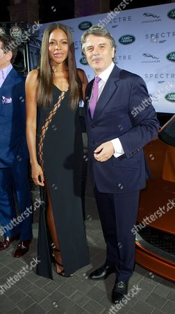 Naomie Harris and DR Ralf Speth