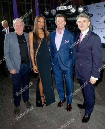 Ian Callum, Naomie Harris, Gerry McGovern and DR Ralf Speth