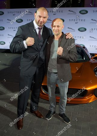 David Bautista and Jurgen Vogel