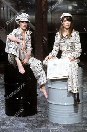 Jane Birkin and Francoise Hardy