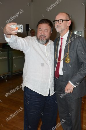 Ai Weiwei and Christopher le Brun