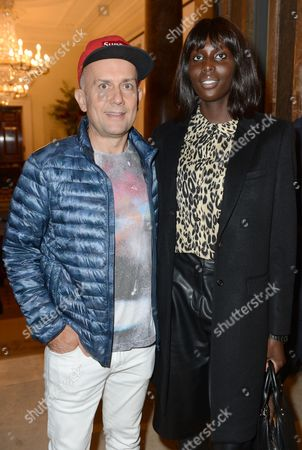 Marc Quinn and Jenny Bastet
