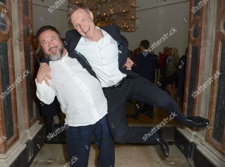 Ai Weiwei and Tim Marlow