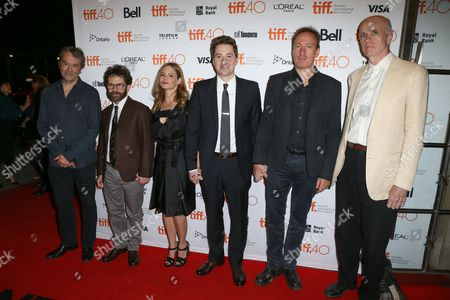 Stock Picture of Carter Burwell, Charlie Kaufman, Jennifer Jason Leigh, Duke Johnson, David Thewlis, Tom Noonan