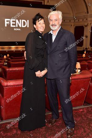 Editorial photo of Fendi and Silvia Venturini Fendi host a private screening of 'aMANda' in Notting Hill, London, Britain - 15 Sep 2015