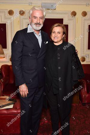 Editorial picture of Fendi and Silvia Venturini Fendi host a private screening of 'aMANda' in Notting Hill, London, Britain - 15 Sep 2015
