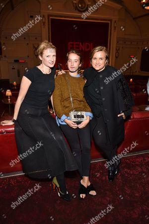 Stock Image of Fiona Scarry, Silvia Venturini Fendi, Leonetta Luciano Fendi22
