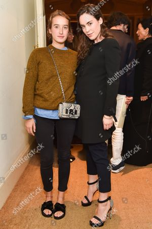 Editorial image of Fendi and Silvia Venturini Fendi host a private screening of 'aMANda' in Notting Hill, London, Britain - 15 Sep 2015