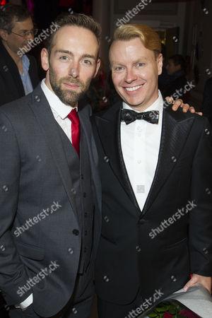 Darren Carnall (UK Associate Choreographer) and Rusty Mowery (US Associate Choreographer)