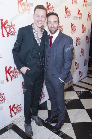 Michael Vinsen and Darren Carnall (UK Associate Choreographer)