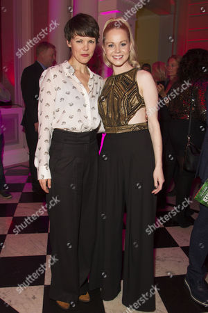 Sarah-Jane Potts and Amy Lennox (Lauren)