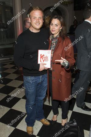 Owain Arthur and Jill Halfpenny