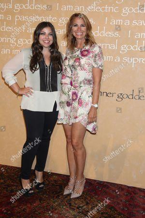 Jill Zarin (R) and daughter Ally Shapiro