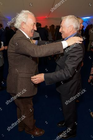 Simon Callow and Jonathan Dimbleby