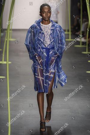 Editorial image of Lie Sang-Bong show, Spring Summer 2016, New York Fashion Week, America - 13 Sep 2015