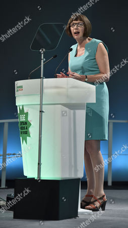 TUC Congress At BT Convention Centre Liverpool Merseyside. - TUC Gen. Sec. Frances O'grady Speaks To Delegates.Eccles - 8/9/14.
