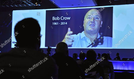 Editorial image of Tuc Congress At Bt Convention Centre Liverpool Merseyside. Tuc Tribute To The Late Rmt Gen Sec. Bob Crow (1961-2014).