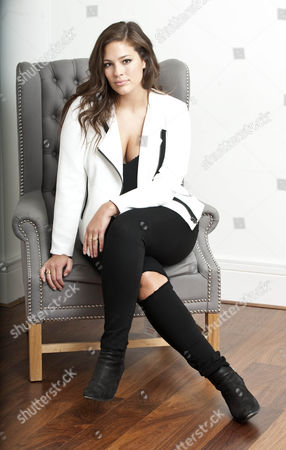8a5a3d624a7 Ashley Graham Who American Plus Size Model Editorial Stock Photo - Stock  Image