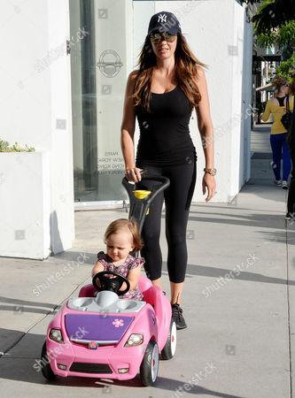 Tamara Ecclestone and daughter Sophia Eccelstone-Rutland