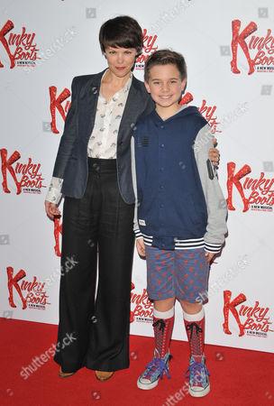 Sarah-Jane Potts and Buster Denham