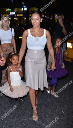 Editorial picture of Mel B out and about in New York, America - 14 Sep 2015