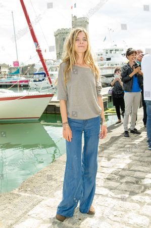 Samantha Renier at the 'Flic tout simplement' photocall