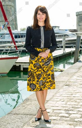Anne Charrier at the 'Marjorie, jamais sans ma mere' photocall