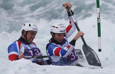 Editorial photo of Canoe-ICF Canoe Slalom World Championships, Lee Valley, London, Britain - 16 Sept 2015