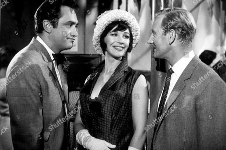 James Booth, Fenella Fielding and Leslie Phillips