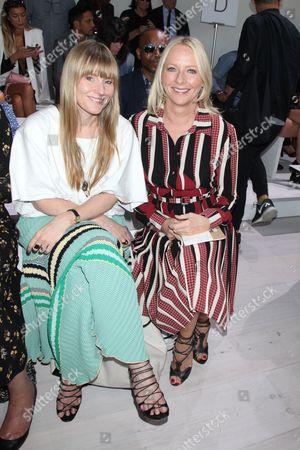 Ashley Astley and Linda Wells