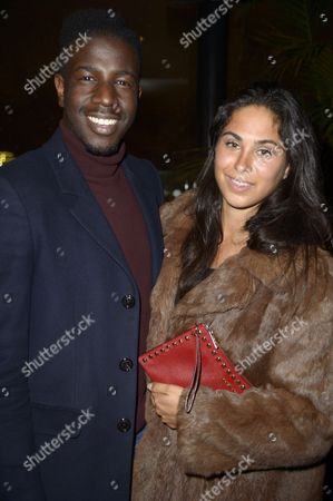 Jermain Jackman with guest