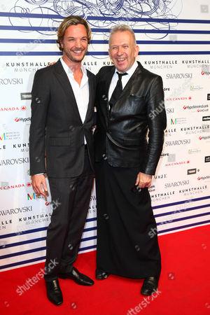 Stock Image of Markus Langes Swarovski and Jean Paul Gaultier