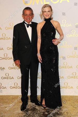 Nicole Kidman and Stephen Urquhart