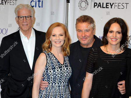Ted Danson, Marg Helgenberger, William Petersen and Jorja Fox