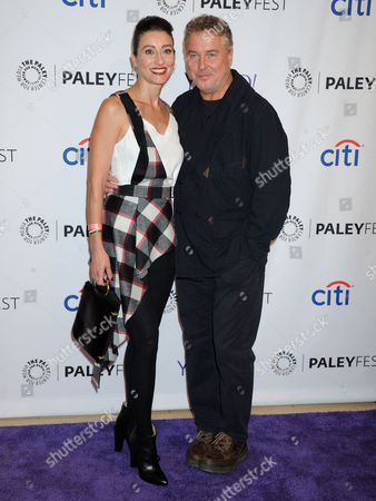 William Petersen and wife Gina Cirone
