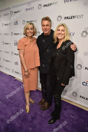 Carol Mendelsohn, William Petersen and Ann Donahue