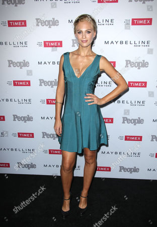 Editorial photo of People's 'Ones to Watch' Party, Los Angeles, America - 16 Sep 2015