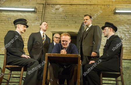 Ryan Pope, Reece Shearsmith as Syd, Simon Rouse as Arthur, Josef Davies as Hennessy, David Morrissey as Harry, Graeme Hawley