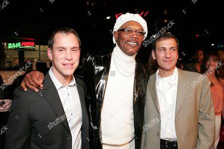Brian Robbins, Samuel L. Jackson & Mike Tollin