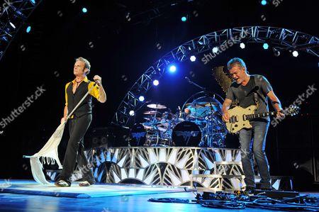 Wolfgang Van Halen, David Lee Roth, Alex Van Halen, Eddie Van Halen