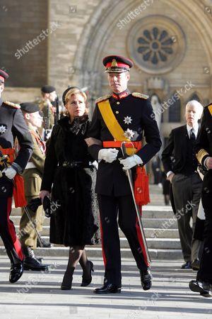 Grand Duchess Maria Teresa and Grand Duke Henri