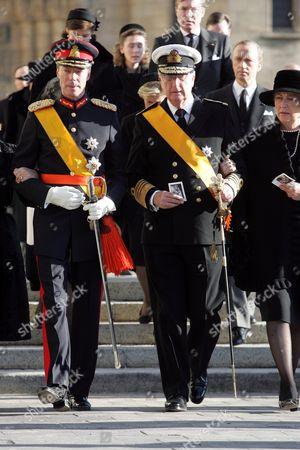 Grand Duke Henri and King Albert