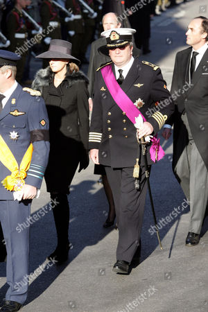 Princess Claire with Prince Laurent